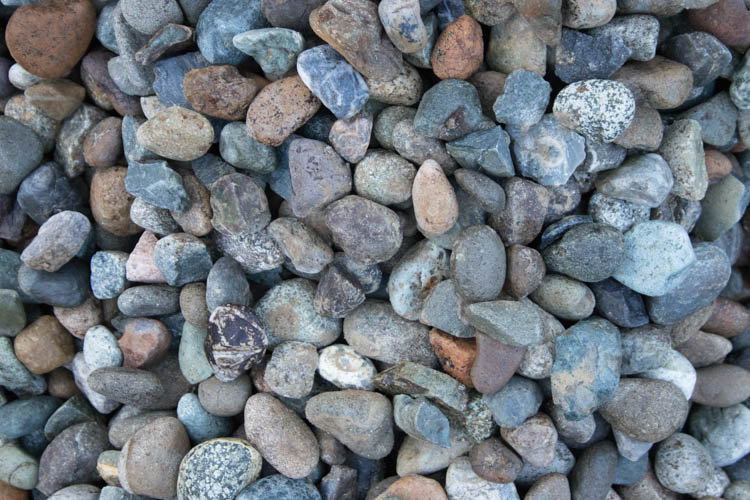 "River Rock (Drainage) ¾""-1½"""